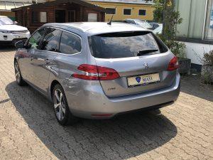 Peugeot 308 Kombi Heckansicht